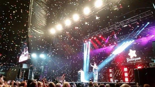 Blackpool Illuminations Switch On 2014