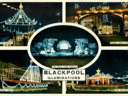 Vintage Video of Blackpool Illuminations
