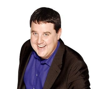 Peter Kay, switch on Blackpool Illuminations in 2014