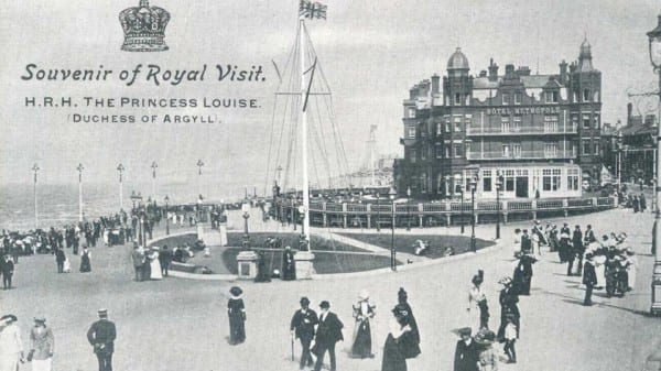 Princess Louise visit to Blackpool in 1912 - History of Blackpool Illuminations
