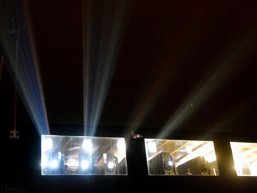 LightPool projection show