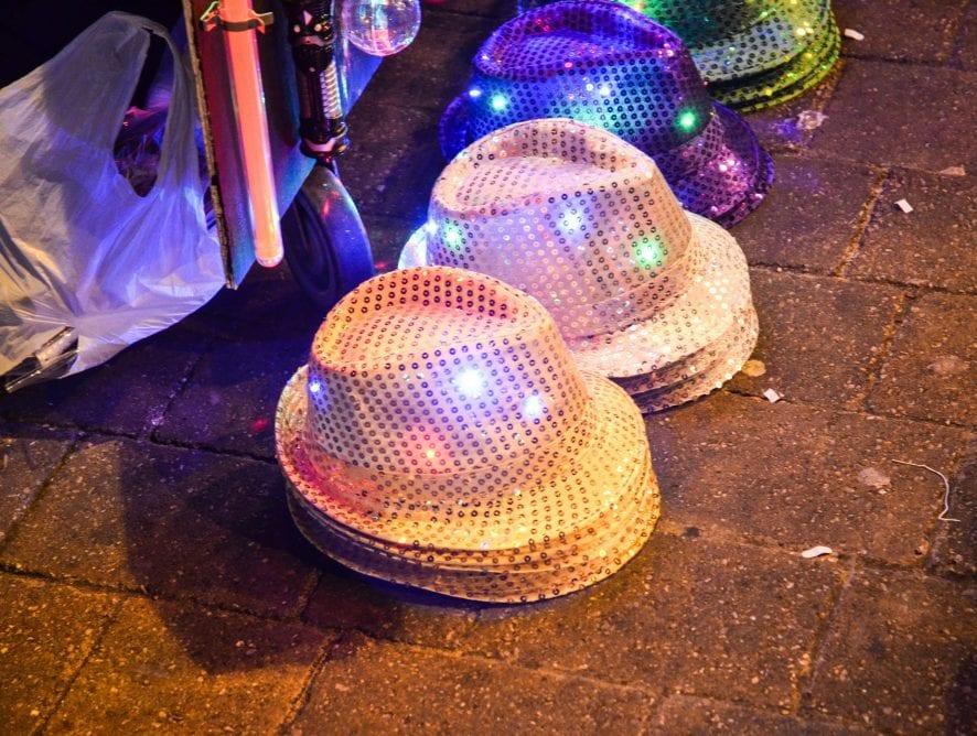 Light up merchandise at Blackpool Illuminations