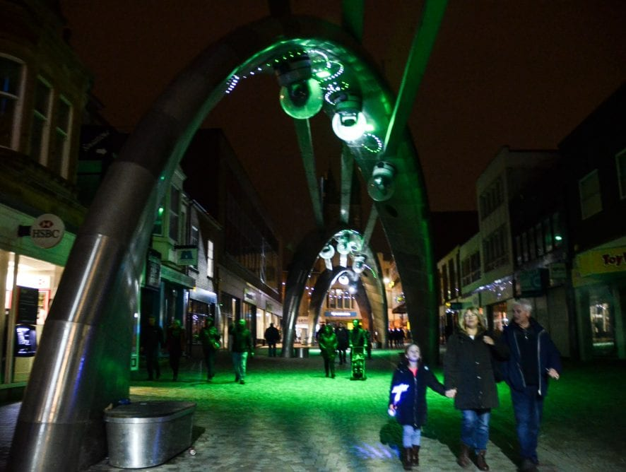 Brilliance on Birley Street. Find out about the Blackpool Illuminations