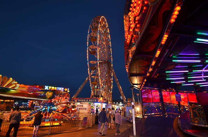 Central Pier - find out about the Blackpool Illuminations