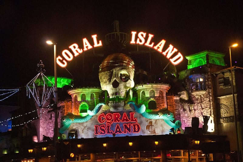 Coral Island on the Promenade. Find out about Blackpool Illuminations