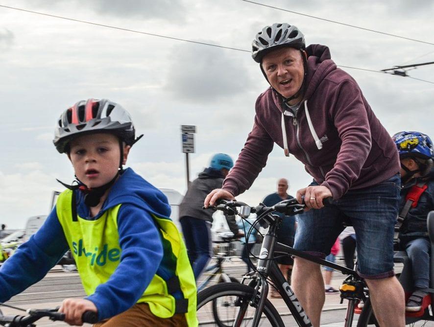 Blackpool Illuminations Ride the Lights 2017