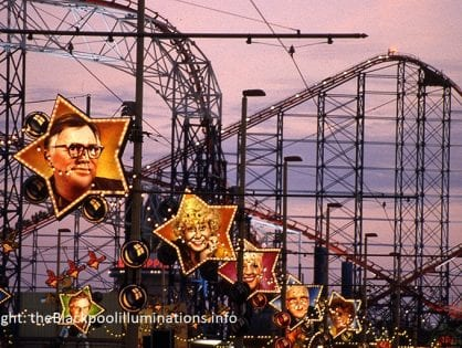 Old Blackpool Illuminations - Photo Gallery