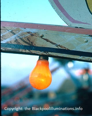 Old technology - Old Blackpool Illuminations photos