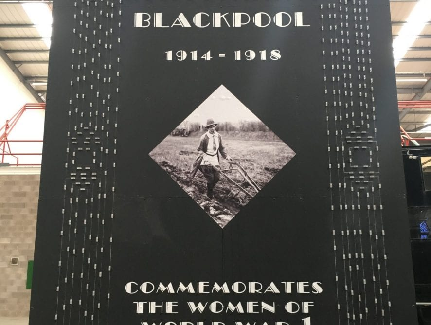 100 Years Tableau in the Blackpool Illuminations - new illuminations for 2018